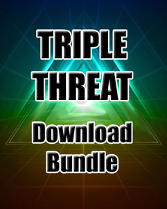 Triple Threat Download Bundle (1,100+ Exercises & Tracks)