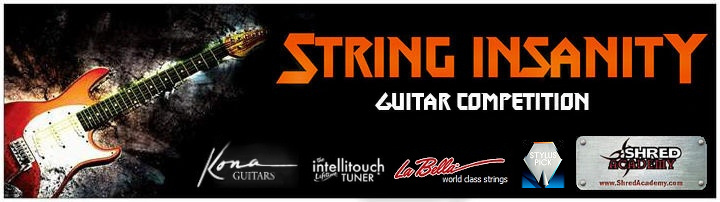 shred academy string insanity competition